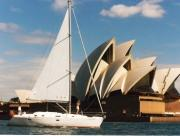 Sailing view of Opera House